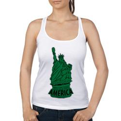Америка (America) Толстая статуя свободы