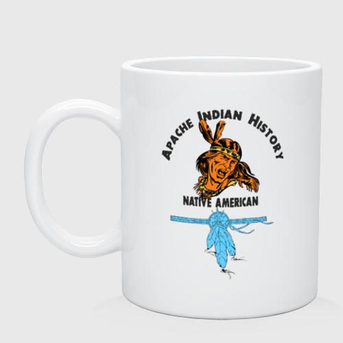 Кружка  Фото 01, Apache Indian History 2