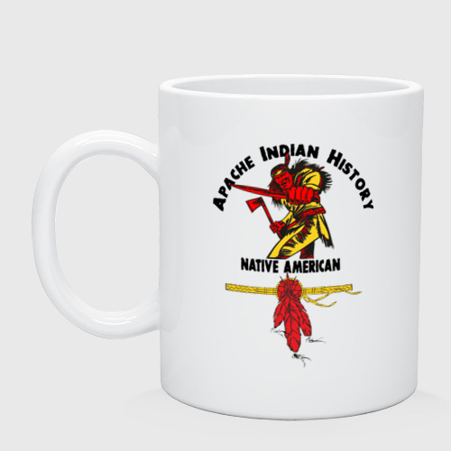 Кружка  Фото 01, Apache Indian History 4