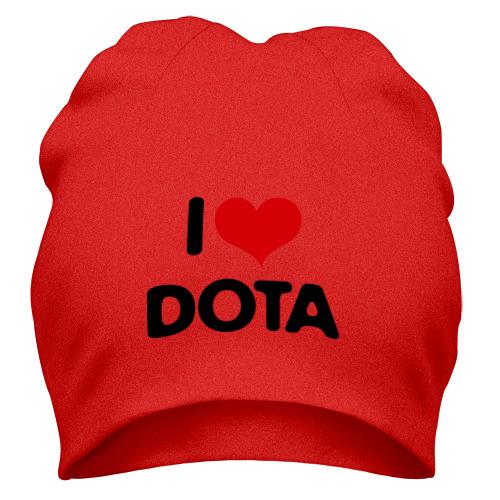 Шапка i love Dota