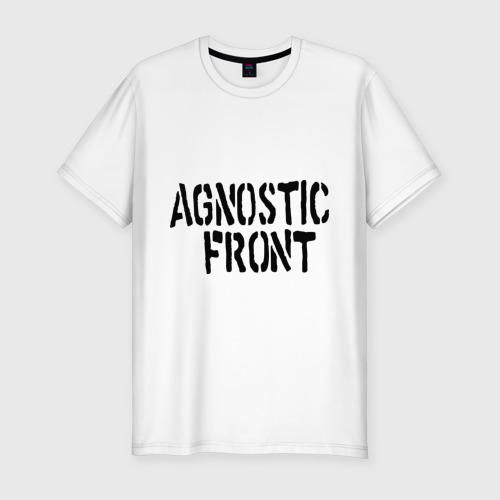 Мужская футболка премиум Agnostic front