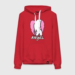 Angel girl pink