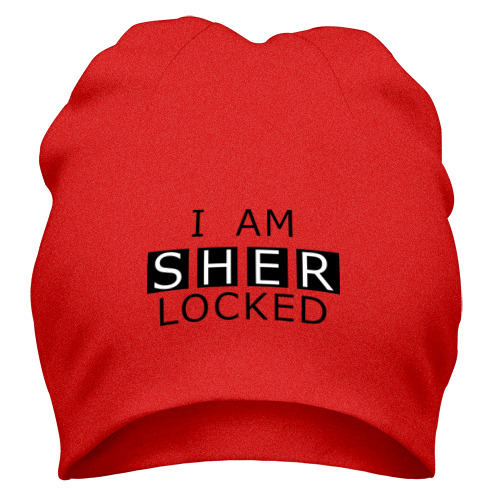 Шапка I AM SHERLOCKED