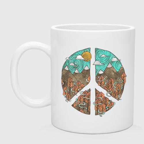 Кружка  Фото 01, Мир (Peace)