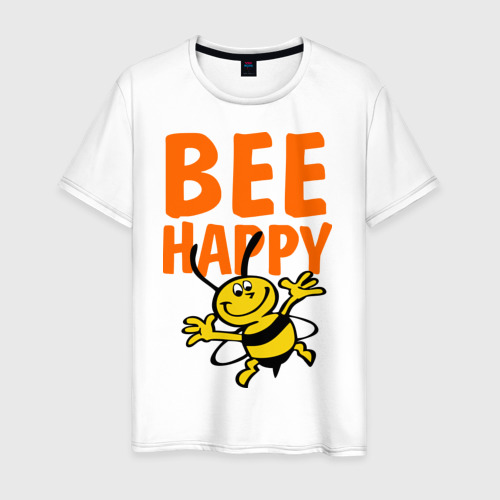 Мужская футболка хлопок BeeHappy