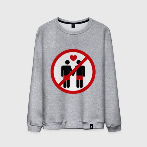 Мужской свитшот хлопок  Фото 01, no gay love
