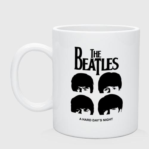 Кружка  Фото 01, The Beatles - A Hard Day\'s Night
