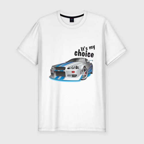 Мужская футболка премиум  Фото 01, It\'s my choice