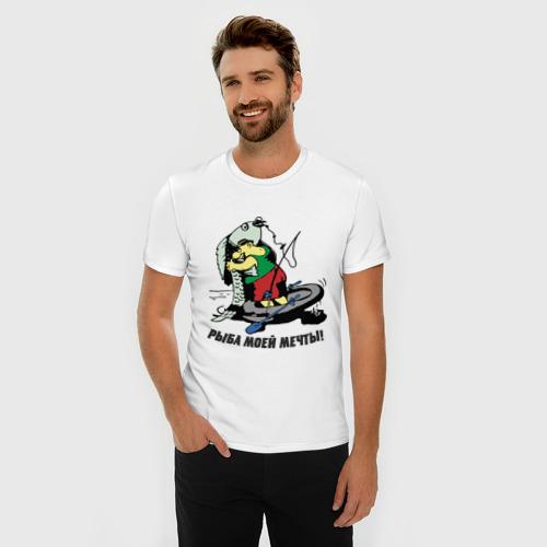 Мужская футболка премиум  Фото 03, Рыбка моей мечты