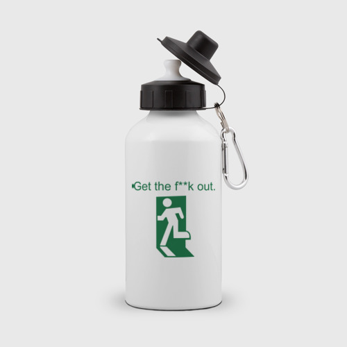 Бутылка спортивная  Фото 01, Get out