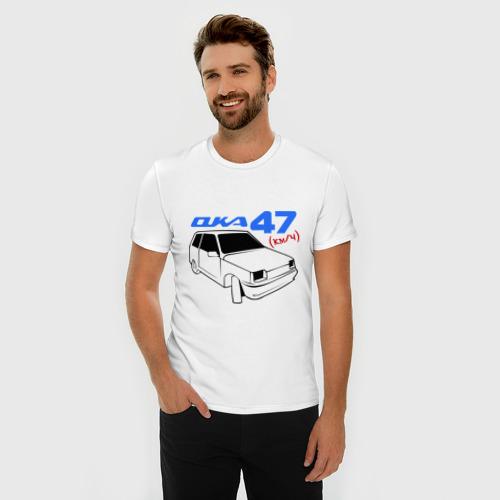 Мужская футболка премиум  Фото 03, ока-47