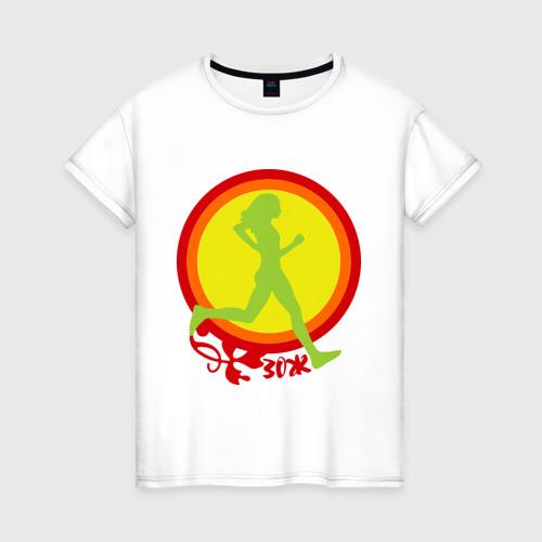 Женская футболка хлопок В гармонии