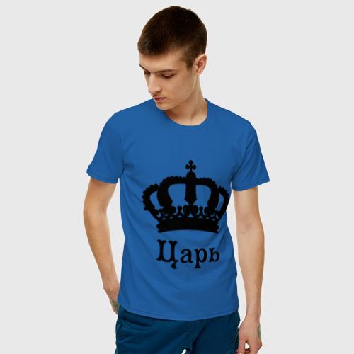 Мужская футболка хлопок Царь (парные) Фото 01
