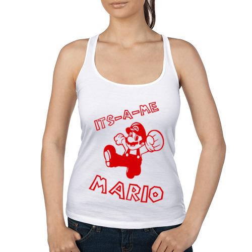 Женская майка борцовка  Фото 01, Its-a-me Mario