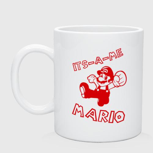 Кружка  Фото 01, Its-a-me Mario