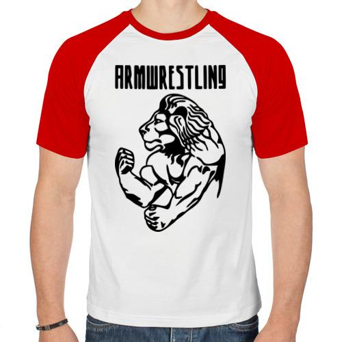 Мужская футболка реглан  Фото 01, Армрестлинг (Armwrestling)