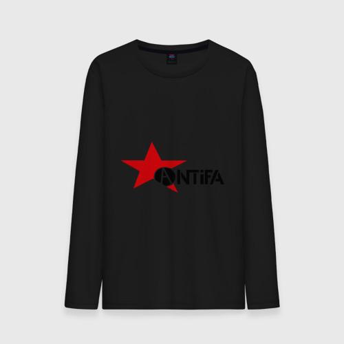 Мужская футболка с длинным рукавом Antifa (4) от Всемайки