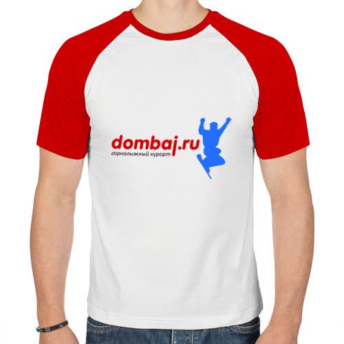 Мужская футболка реглан  Фото 01, Домбай лого
