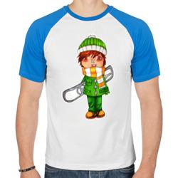 зеленый борд парень