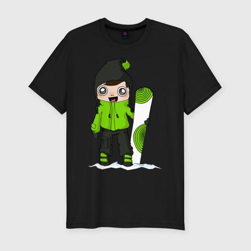 Зеленый парень борд