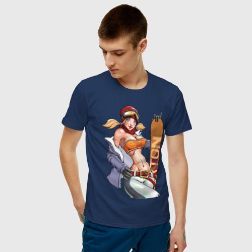 Мужская футболка хлопок Секси гел борд Фото 01