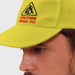 Caution mosh pit
