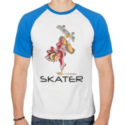 Скейтбордист на борде