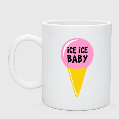 Кружка  Фото 01, Ice ice baby