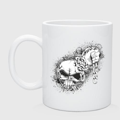 Кружка  Фото 01, Skull Chain