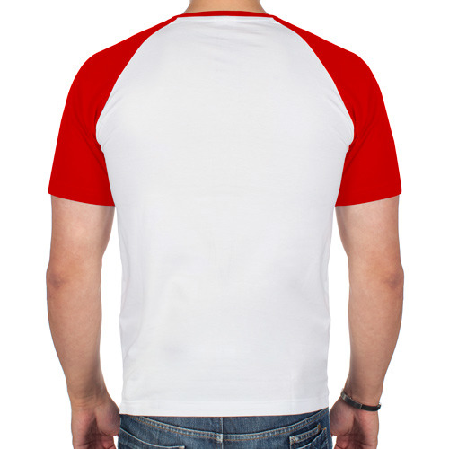 Мужская футболка реглан  Фото 02, 228-решетка