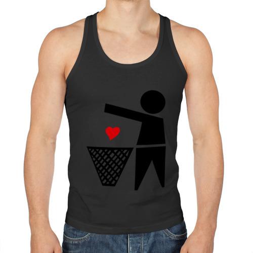 сердце в мусорку