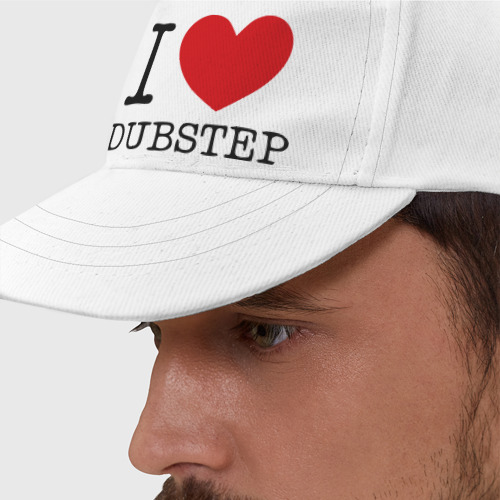 Бейсболка I love dubstep (2)
