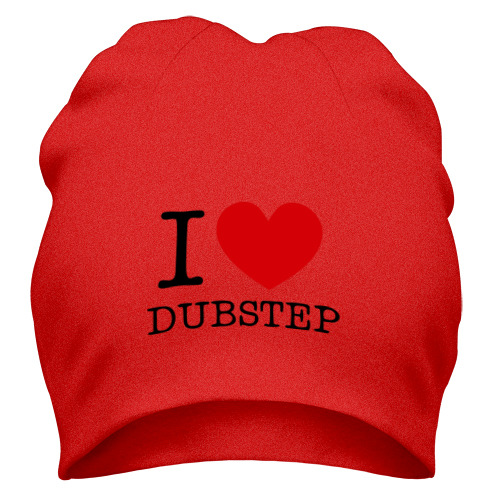Шапка I love dubstep (2)