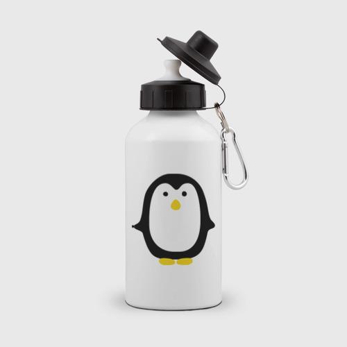 Бутылка спортивная  Фото 01, Пингвин маленький