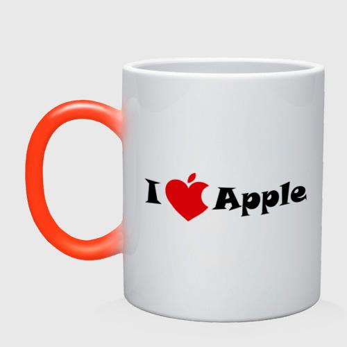 я люблю яблоко