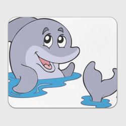 Плескание дельфина