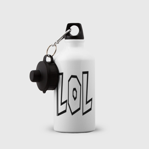 Бутылка спортивная  Фото 03, Lol буквы