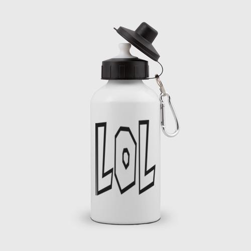 Бутылка спортивная  Фото 01, Lol буквы