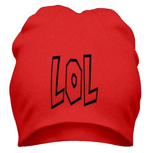 Шапка Lol буквы