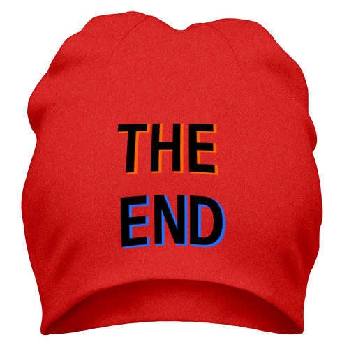 Шапка THE END 2