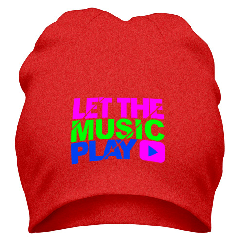Шапка Let the music play