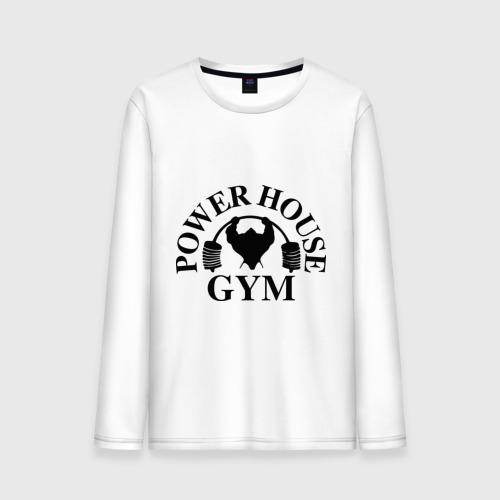 """Мужская футболка с длинным рукавом """"Power House Gym"""" - 1"""