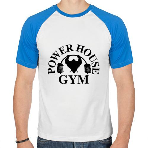"""Мужская футболка-реглан """"Power House Gym"""" - 1"""