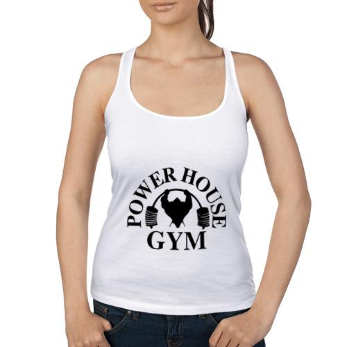 """Женская майка-борцовка """"Power House Gym"""" - 1"""