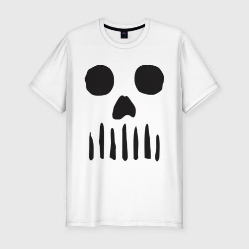 Мужская футболка премиум  Фото 01, Череп минимализм
