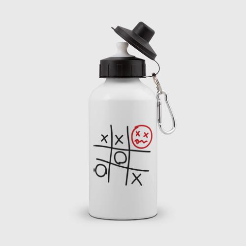 Бутылка спортивная  Фото 01, крестики-нолики 2