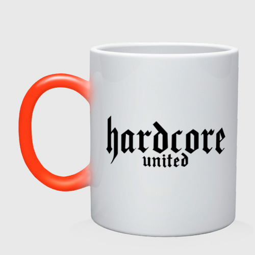 Кружка хамелеон Hardcor united