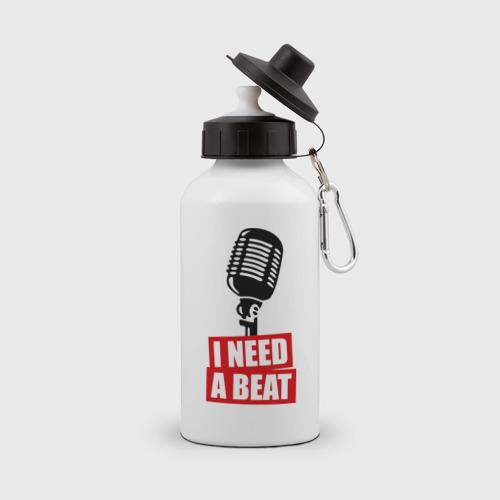 Бутылка спортивная I Need A Beat Фото 01
