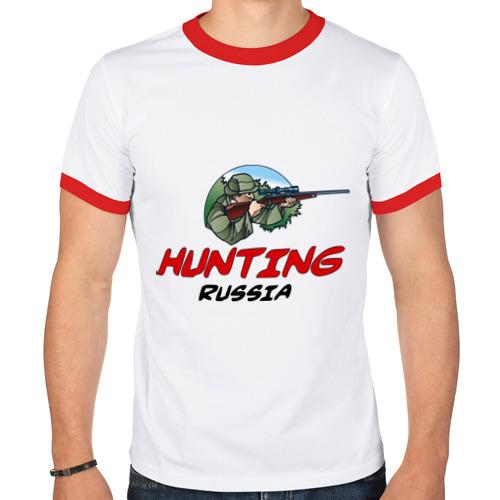 Мужская футболка рингер  Фото 01, Стрелок россия
