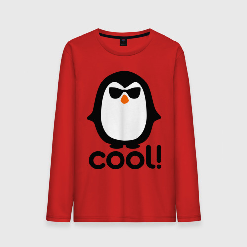 Стильный клевый крутой пингвин